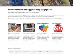 Website - Drainage Company, London