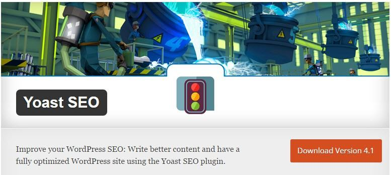Yoast SEO - available via WordPress.org
