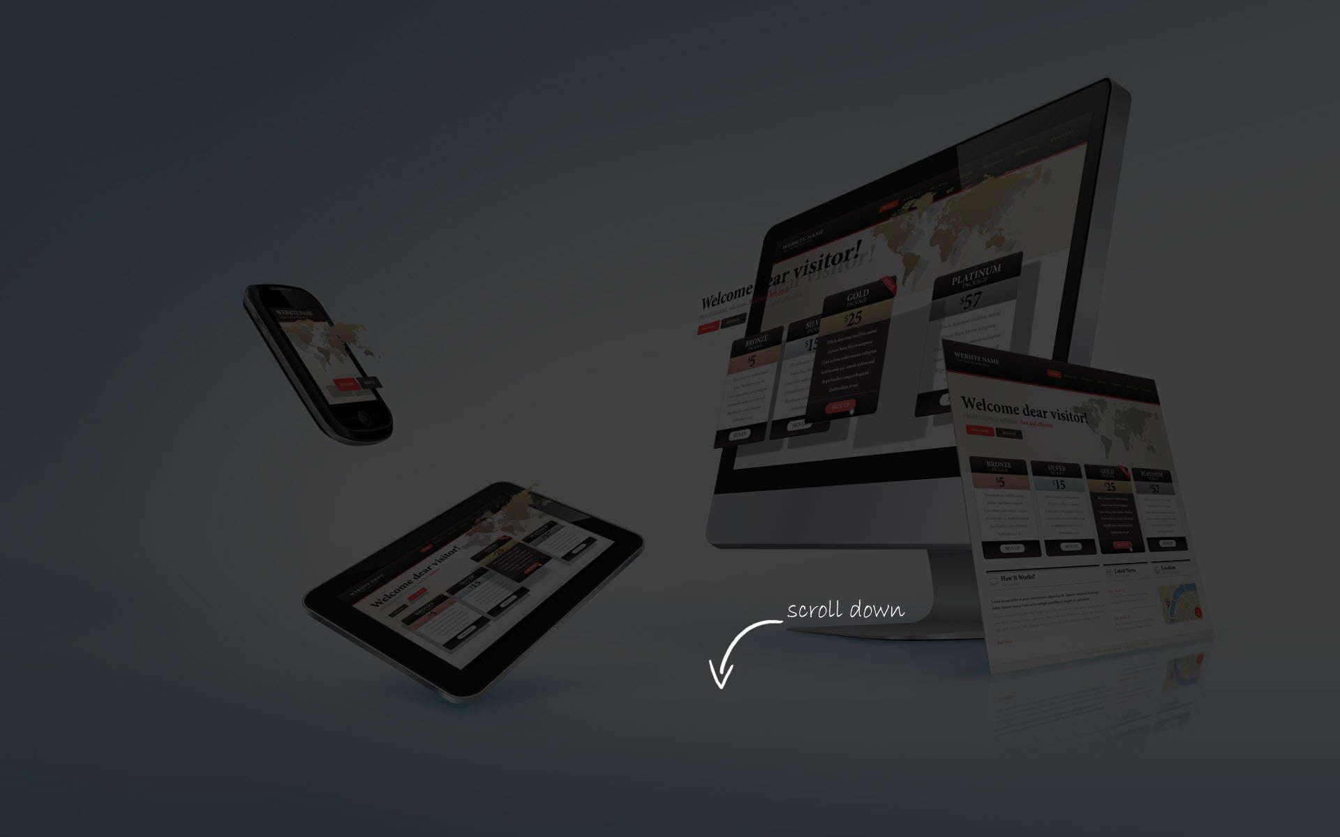 We Make Websites That Work…