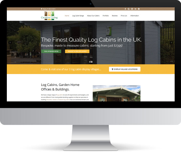 Log Cabins-SEO-Case-Study